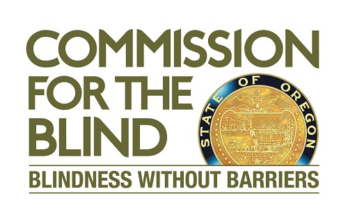 Commission for the Blind State of Oregon, Blindness Without Borders logo